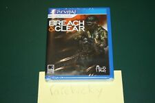 Breach & Clear (PS Vita) NEW SEALED Y-FOLD MINT, LIMITED RUN GAMES #1, VERY RARE