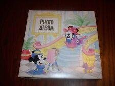 DISNEY'S MICKEY PHOTO ALBUM 18 SLEEVES 72 PHOTOS