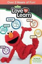 Sesame Street: Love to Learn (DVD, 2016) NEW