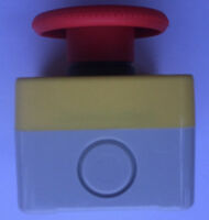 Emergency STOP button Mushroom Head Switch IP65 Indoor or Outdoor Use