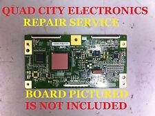 T400HW01 V5 55.40T02.C08 REPAIR SERVICE for T-CON Board KDL-40V4100 Etc.