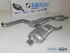 IMASAF Auspuff ab Kat BMW 3er E46 320i 323i 328i +Coupe+Touring+Cabrio 1998-2000