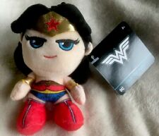 Dc Comics Se7en20 5� Wonder Woman Collectible Mini Plush Toy Keychain Clip Nwt!