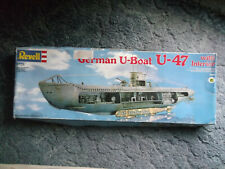 revell 05060 U- Boot Typ VII /B  U 47 KptLT. Günther. Prien 1:125