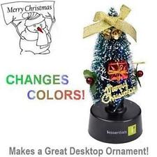iEssentials USB Powered Christmas Tree - Changing LED Colors - MERRY CHRISTMAS