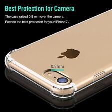 For iPhone 7 Plus Soft TPU Transparent Anti-Scratch Shock-Absorption Clear Case