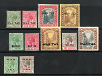 Bahamas - (11) War Tax MH (rem)    /    Lot 0121092