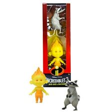 Disney Pixar Incredibles 2 Champion Series Action Figures - Jack-Jack & Raccoon