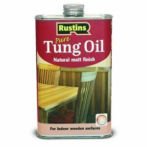 Rustins Pure Tung Oil - 1 litre