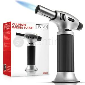 Refillable Butane Gas Micro Blow Torch Lighter Welding Soldering Brazing Tools