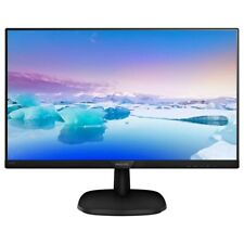 Philips 243V7QDAB 24 inch IPS Monitor - Full HD 1080p, 5ms, Speakers, HDMI, DVI