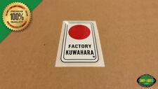 1983 - 1985 Kuwahara 'HEAD TUBE' Vintage BMX Decal Sticker - KZ, Laserlite, Nova