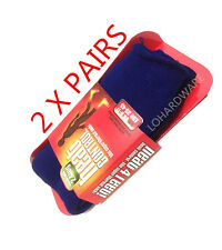 2 pair x Size 6-11 HEAT CONTROL The Super Thermal Sock-Warmth rating 2.4tog-(man