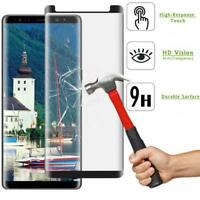For SAMSUNG GALAXY NOTE 8 - 5D CURVED TEMPERED GLASS SCREEN PROTECTOR FULL COVER
