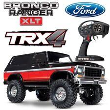 NEW Traxxas TRX-4 Ford Bronco Trail RC 4x4 Scale Rock Crawler Truck w/RED BODY