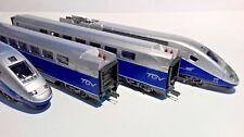 1/87 HO MEHANO : SNCF TGV DUPLEX 235 - 4 vetture con luci ( no LIMA )