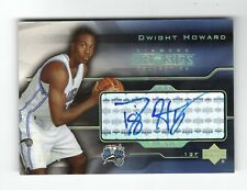 2004-05 UD PRO SIGS ROOKIE PRO SIGNS GOLD Dwight Howard RC AUTO /25 SP!