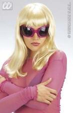 Blonde Wig With Fringe Lady Gaga Celebrity Fancy Dress