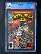 Secret Wars II #8 CGC 9.6 (1986)