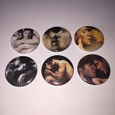 6 Wincest badges Supernatural fanfiction canon gay interest Sam Dean Winchester