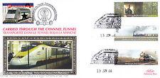 2004 Trains - Benham Channel Tunnel Official (Pr) - Railway Stamp 1