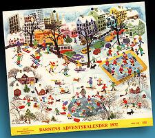 Bel Vecchio Calendario Avvento 1972 Inutilizzati Bambini > Pfadfinderverband