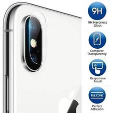 2X Apple iPhone X Back Camera - Tempered Glass Screen Protector Guard Shield