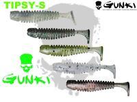 Gunki Tipsy-S 3,8cm Soft Plastic Bait 15Pcs Lure Fishing Pike Perch Bass lrf UK