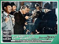 T29 Fotobusta Gianni E Costello Gegen Die Dr.Jekyll Abbott Costello Karloff 2