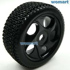 4 Stück 1/8 RC Tires Reifen w/ Hex 17mm Felge Rims For RC HPI Off-Road Buggy Car