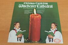 Christmas Carols From Winchester Cathedral - Vinyl LP Album - Hallmark SHM 778