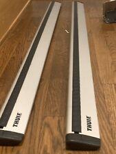 """Thule aluminium ARB47 AeroBlade 47 47"""" load bars cross bars READ"""