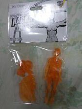 Boss fight Studios Vitruvian Hacks H.A.C.K.S. - Female Blanks Transparent Orange