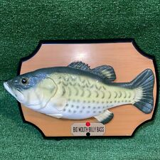 Vintage 1999 Big Mouth Billy Bass Gemmy Singing Fish Rare! As is