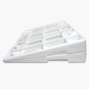 The Wellness Wedge Your Mattress Elevation Solution Two Pack Of Plastic Wedges