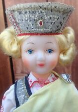 VTG LATVIAN LATVIA  RUSSIAN  EUROPEAN CULTURAL ETHNIC DOLL COLLECTIBLE RARE MINT
