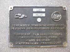 Original Fabrikschild LEW HEV