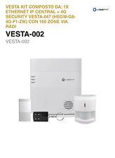 Antifurto Vesta-002 Con Sirena Radio Vesta-020 Kit
