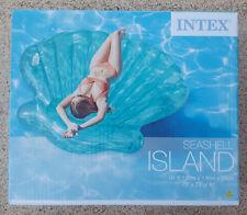 Isola Conchiglia Gonfiabile Grande Intex  191X191X25