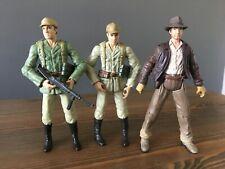 "Raiders of the Lost Ark Indiana Jones & soldado alemán 2-Pack 3.75"" figuras 2008"