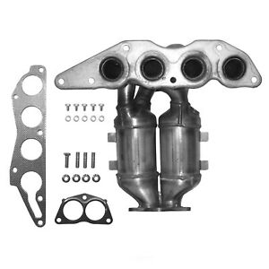 Exhaust Manifold with Integrated Catalytic Converter-Direct Fit Front 40617