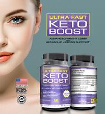☀ 2 BOTTLES  Keto Diet  Burn Fat- ULTRA FAST KETO BOOST- Weight Loss, Diet Pills