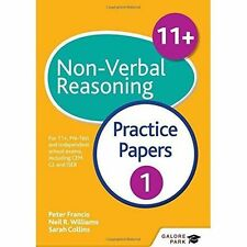 11+ Non-Verbal Reasoning Practice Papers 1: For 11+, pre-test and independent...