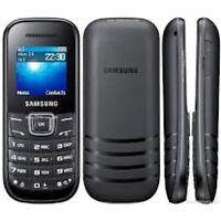 BRAND NEW Samsung Keystone 2 GT-E1205Y - BLUE (Unlocked) Mobile Phone GENUINE