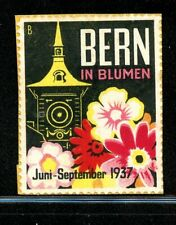 Bern Switzerland Flowers & Still Life 1937 on piece