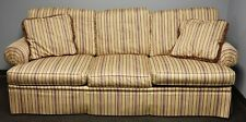 Southwood Custom Sofa with Striped Upholstery