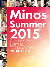 Minos Summer 2015 (Grecia Modern Hits) ORIGINAL NUEVO CD