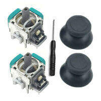 2 x Analog 3D Joystick Thumbstick Controller for PlayStation 4 PS4 Replacement