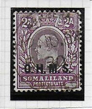 SOMALILAND  1904  Official  2as  SG012 fine used