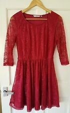 New Look Lace 3/4 Sleeve Skater Dresses for Women
